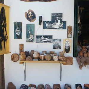 Our Shop in Lakka, Paxos island