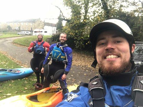 River Tees whitewater Kayak Trip