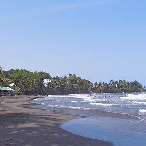 Un bon spot de Surf (Bodyboard)