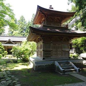円福寺:多宝塔