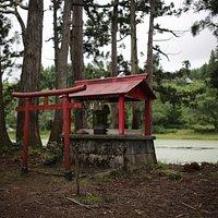 お松の池:弁天