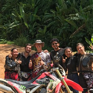 Enduro dirt bike training camp in Thailand