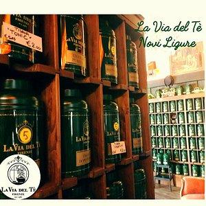 La sala da tè del Dorian Gray Bistrot