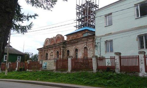 Храм Петра и Павла в Волоколамске.