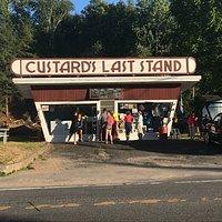 The Classic Adirondack Ice Cream Stand