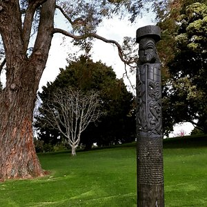 Battle of Gate Pa historic site in Tauranga, New Zealand