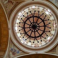 cúpula de la iglesia siglo XVII. Orden Dominicana. aqui se alojó Belgrado en 1810\11