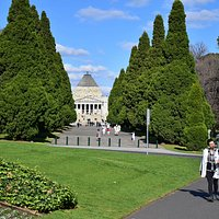View - Shrine of Remembrance