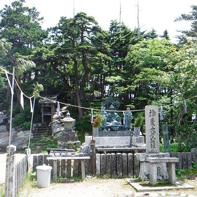 大峰山寺の護摩エリア
