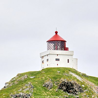 """New"" lighthouse of Runde"