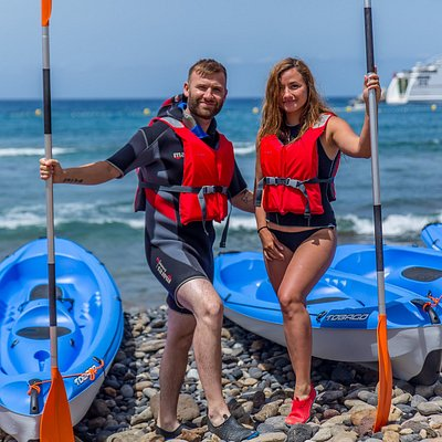 Kayaking, a perfect activity for couples and families