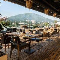 """Удивительный вид из панорамного ресторана """"Крыша"""""""