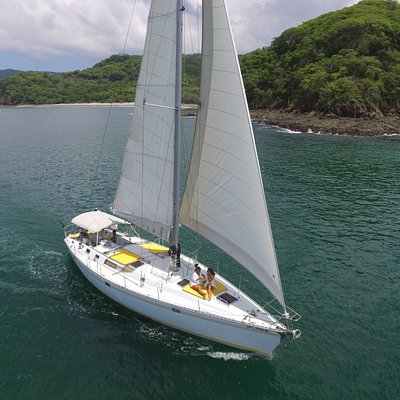 Sailing Near Tamarindo, but worlds away