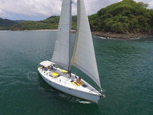Sailing Near Tamarindo, but worlds away