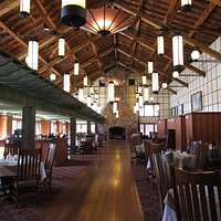Ptarmigan Room. The main dining room.
