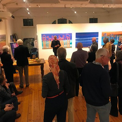 Gallery night for Lockhart River artists exhibition