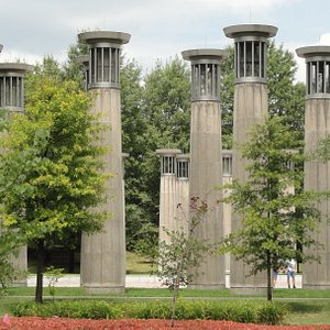 95-bell carillon, representing the 95 counties of the state and its musical legacy...