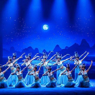 《桂林传说》,第一幕绝美