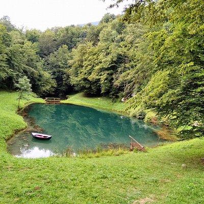 Smit's Lake (Šmitovo Jezero in Croatian) during summertime