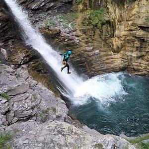 sauts cascade de la Lance