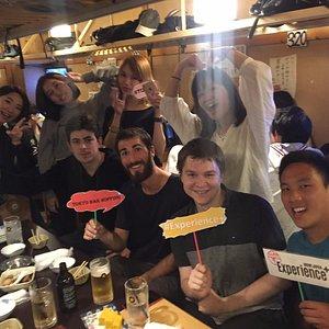 Bar hop in Shinjuku!