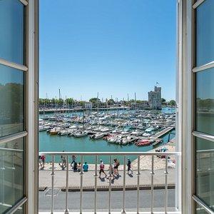 Chambre double avec vue sur le Vieux Port