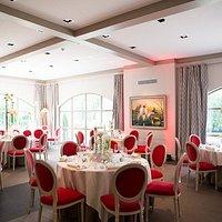 Salle du restaurant du Château Sainte Sabine