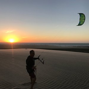 come to learn kite surf with us