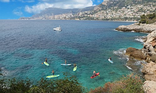 Stand Up Paddle - Cap Martin