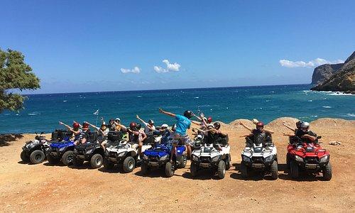 Quad Safari, Agia Pelagia, Fodele Beach, Crete