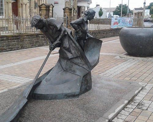 Industrial Symphony Sculpture