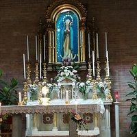 Икона - Непорочного зачатия девы Марии