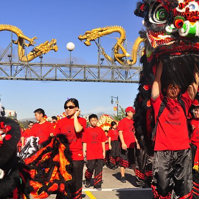 Los angeles chinese new year parade