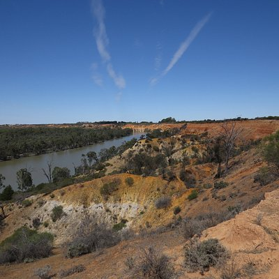 A view from a little downstream of the lookout area