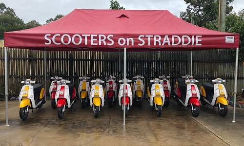 Plenty of Scooters here...