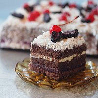 Flour Drum's Black Forest Lamington is unique in every way.