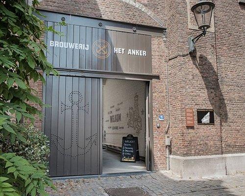Brouwerij Het Anker is located in the Great Beguinage of Mechelen, recognized by UNESCO.