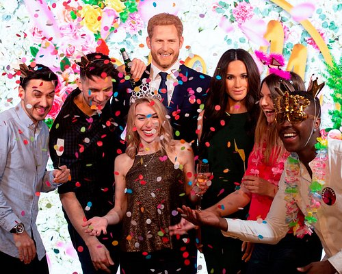 Celebrate with the Royal newlyweds at Madame Tussauds London!