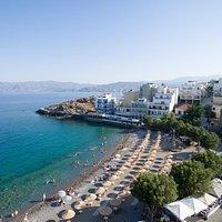 Kitroplatia Beach, Agios Nikolaos - Awarded with a Blue Flag | ΔΑΕΑΝ
