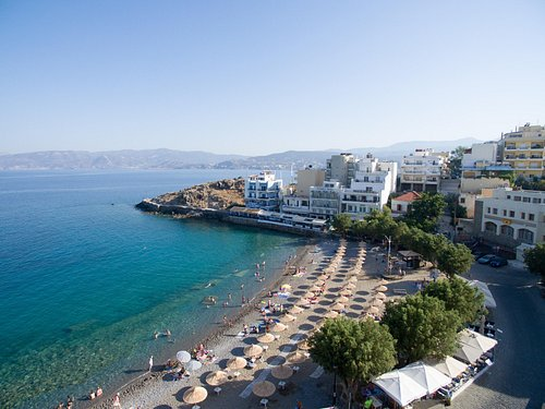 Kitroplatia Beach, Agios Nikolaos - Awarded with a Blue Flag   ΔΑΕΑΝ