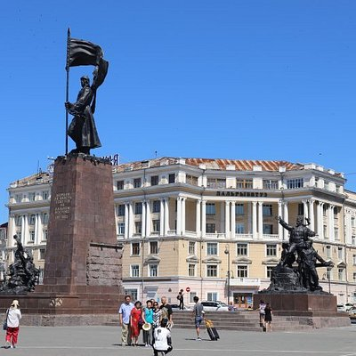 Memorial to the Fighters for the Soviet Power in the Far East