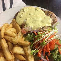 Chicken Breast with Hollandaise Sauce