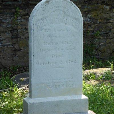 Mr. Harper's Grave