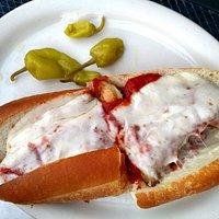 Chicken Parm sandwich