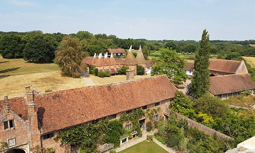 View from the tower at Sissinghurst