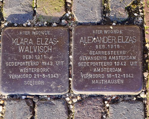 Stolpersteine, small but impressive and personal monuments