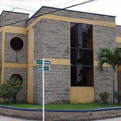Fachada Museo Arqueológico Zenú Manuel Huertas