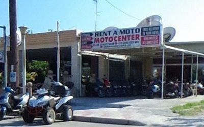 Motocenter  Ferenikis, Rhodes office.