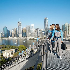 Embark on a lovely day climb up the Story Bridge.