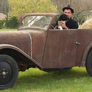 Benoit et son chien